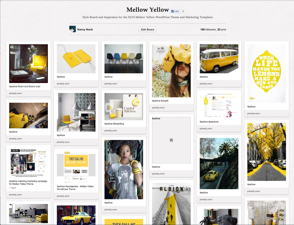 mellow-yellow-pinterest-mood-board