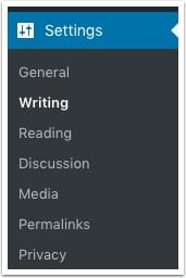 writing-settings
