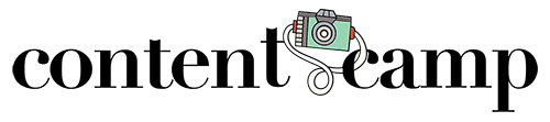 Content Camp Logo - Color Camera - 500px